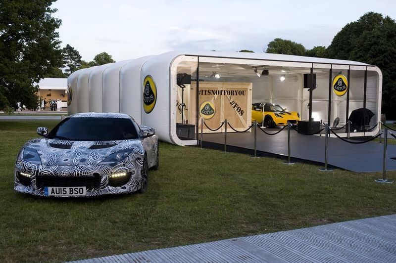 lotus at goodwood festival of speed - Lotus unveils the all new 3-eleven car