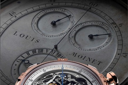 The crowning glory of Louis Moinet's first decade comes up with an entirely new concept for the first ever chronograph-watch
