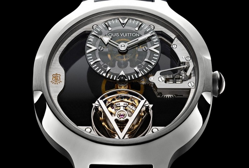louis vuitton poincon de geneve watch
