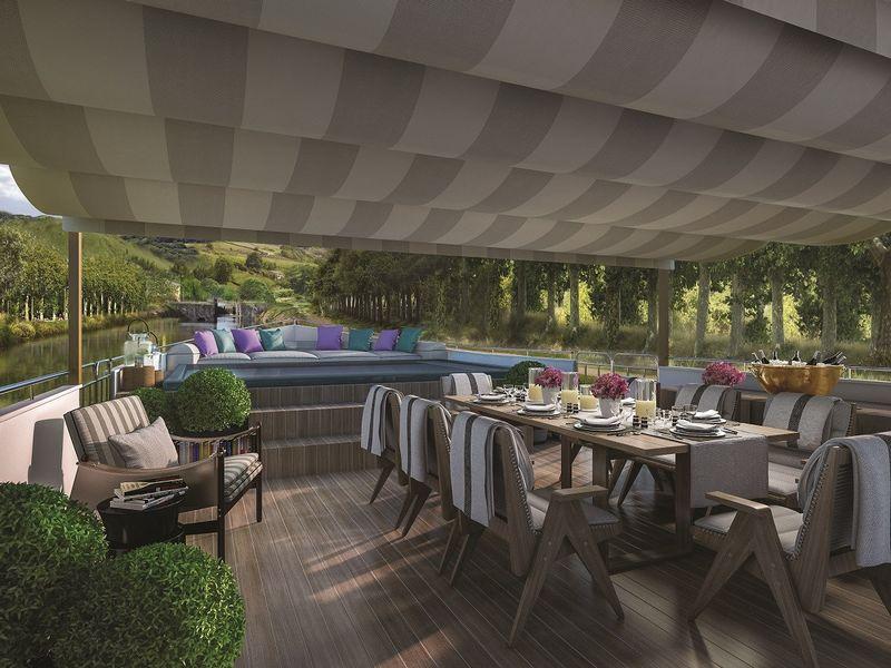 luxury barges in France in 2017 - Belmond Afloat in France