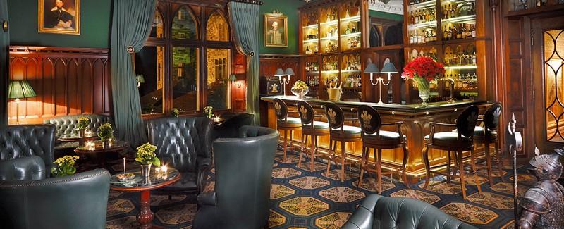 luxury castle bar