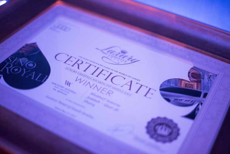 luxury lifestyle awards 2016-certificate