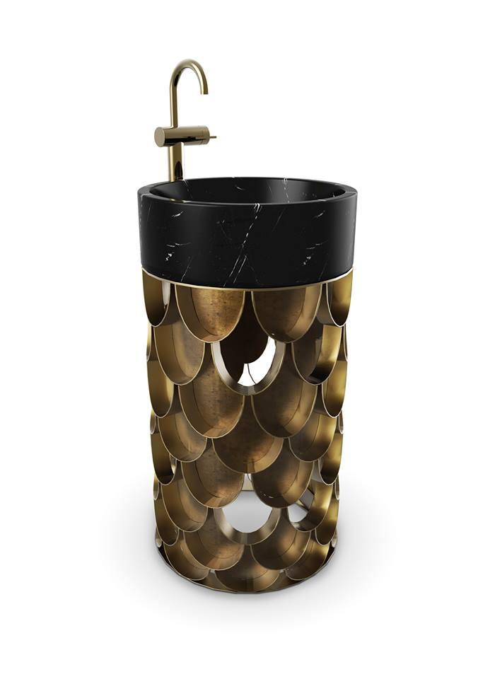 maison valentina  bathrooms - Koi freestand