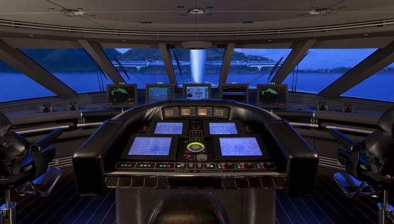 maltese falcon sailing superyacht-cockpit