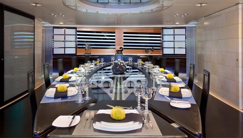 maltese falcon sailing superyacht-luxurious interiors-