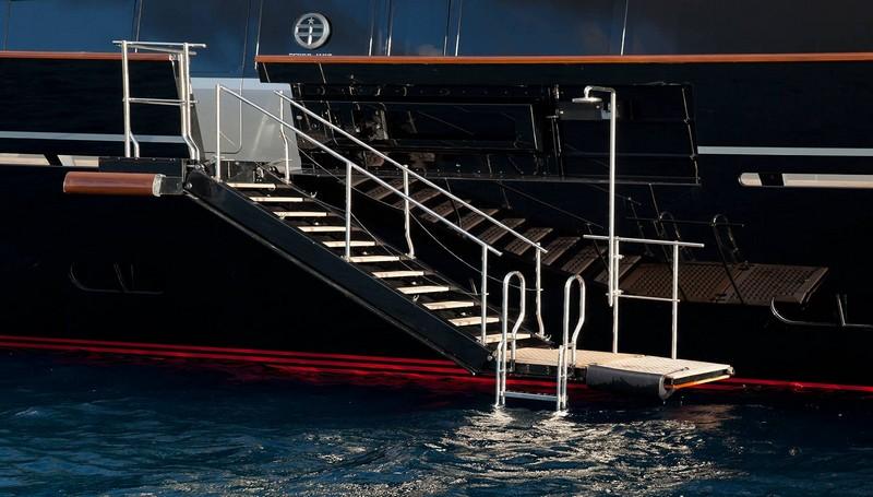 maltese falcon superyacht--stunning amenities