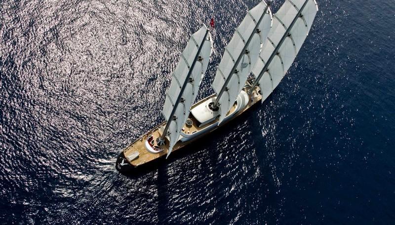 maltese falcon superyacht