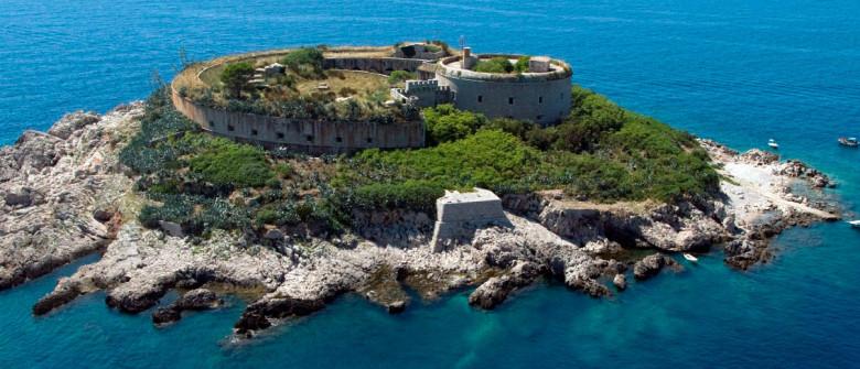 mamula-fortress island montenegro