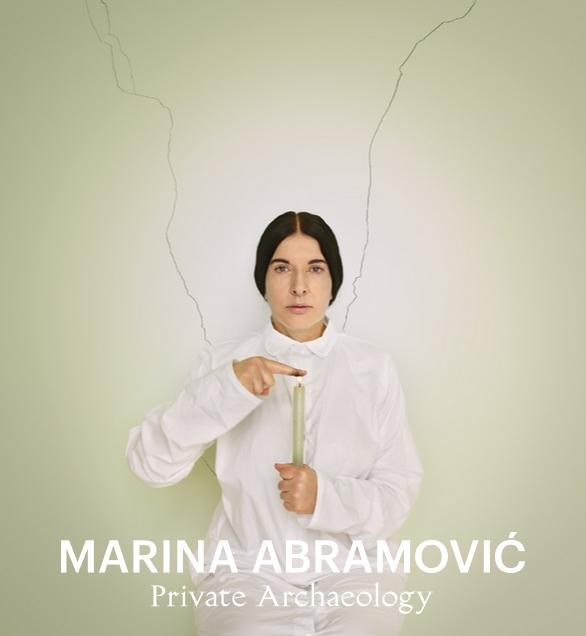 marina abramovic private arche0logy
