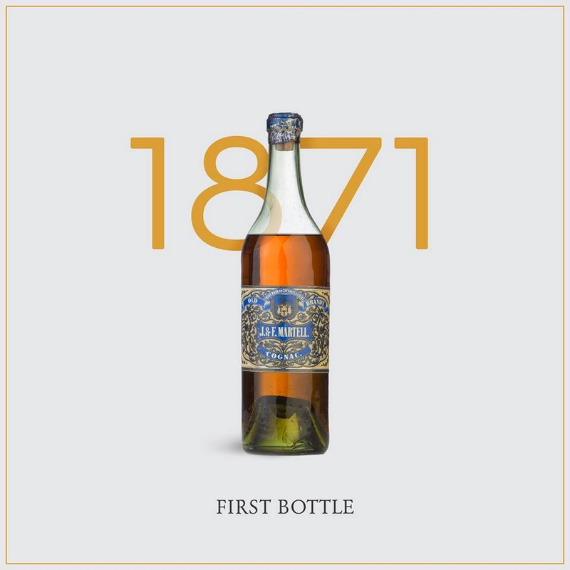 martell first bottle