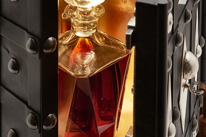 Martell hidden gems. Uniquely precious. Only one bottle available in the world.