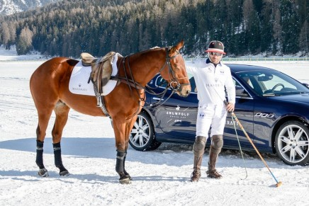 The Maserati Polo Tour 2016 began with a thrilling start at the 2016 Snow Polo World Cup St. Moritz