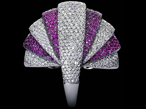 mattia cielo at Baselworld 2016 - moving jewels-