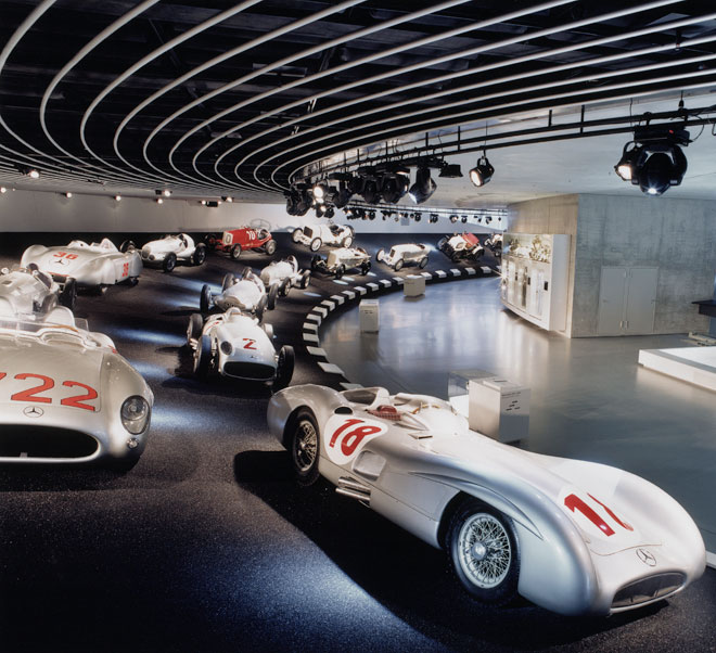 mercedes benz museum - Milestones and their history