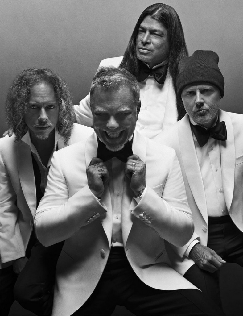 metallica for brioni