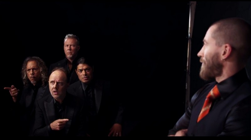 metallica for brioni-the movie