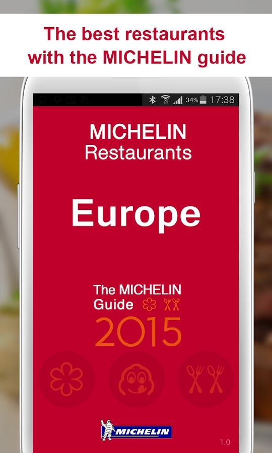 michelin europe app