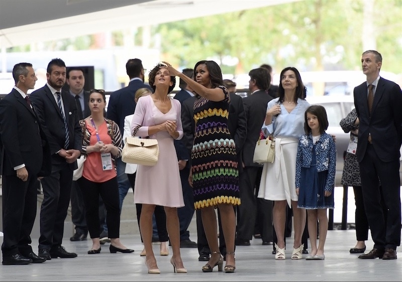 michelle obama in missoni