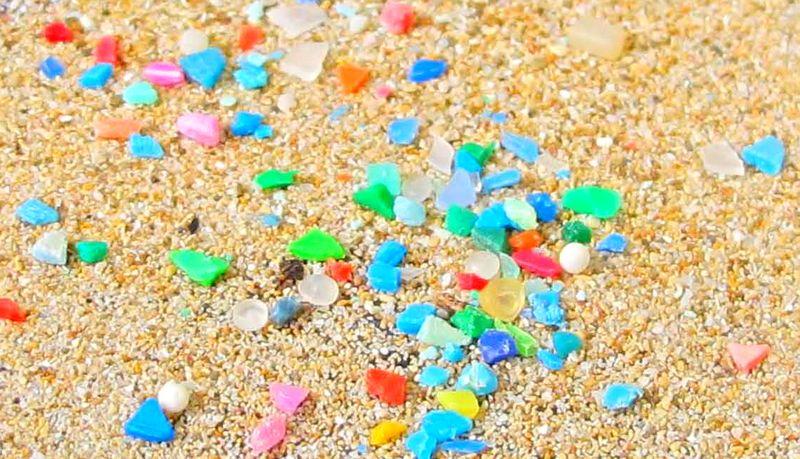 microplastics in oceans