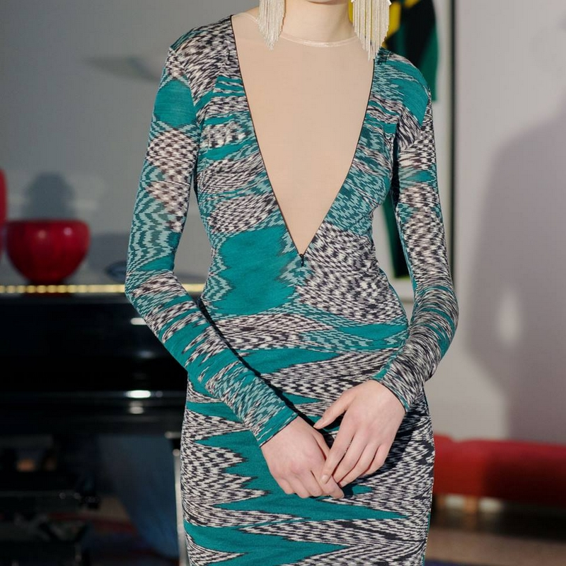 missoni FW 2015 collection dress