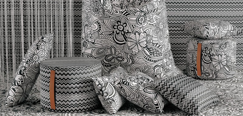 missoni home 2016 collection-black and white theme -