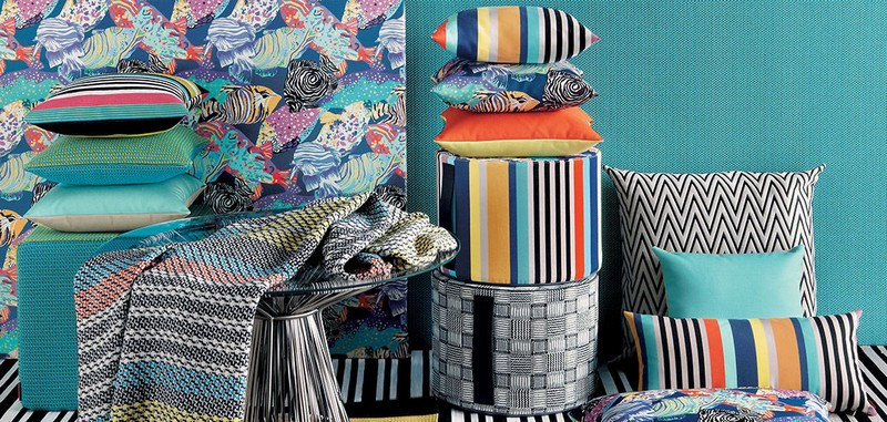 missoni home 2016 collection-tropical fish