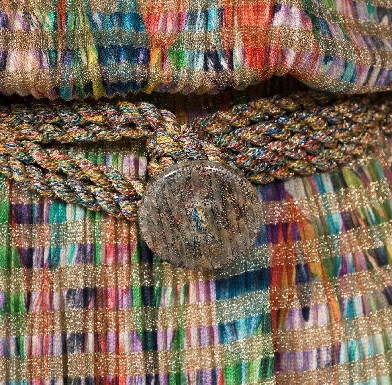 missoni silk dress - details