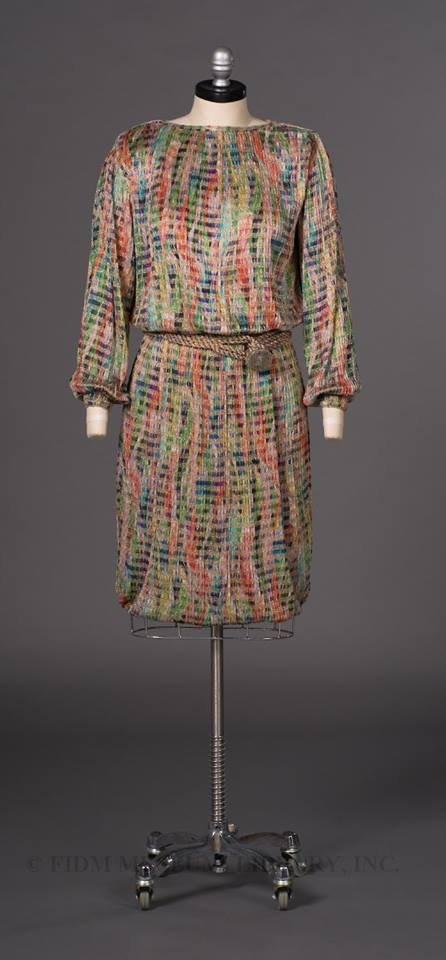 missoni silk dress