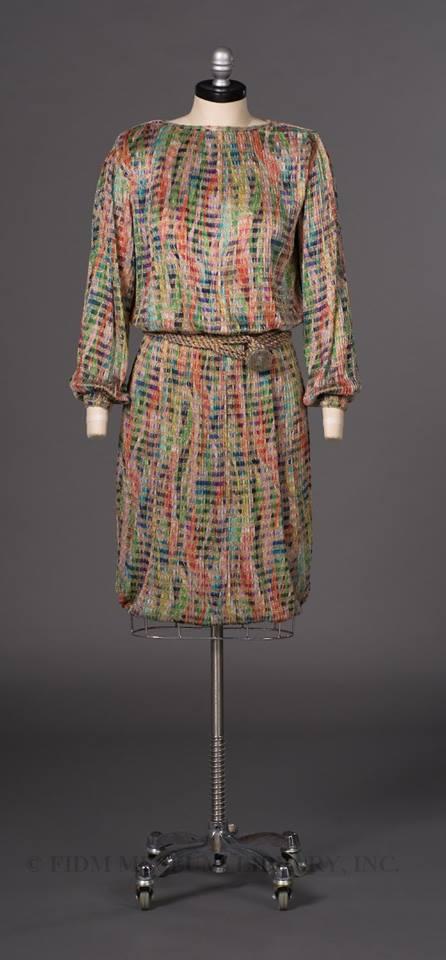 missoni silk dress