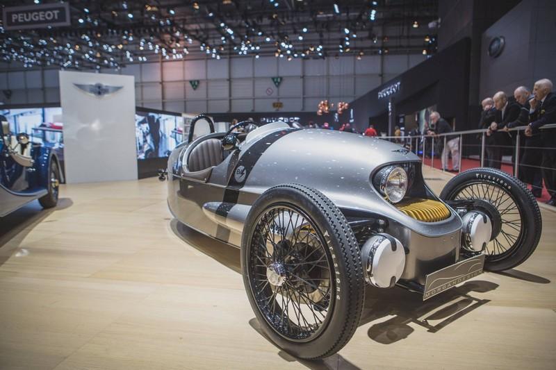 morgan motor company at geneva motor show 2016