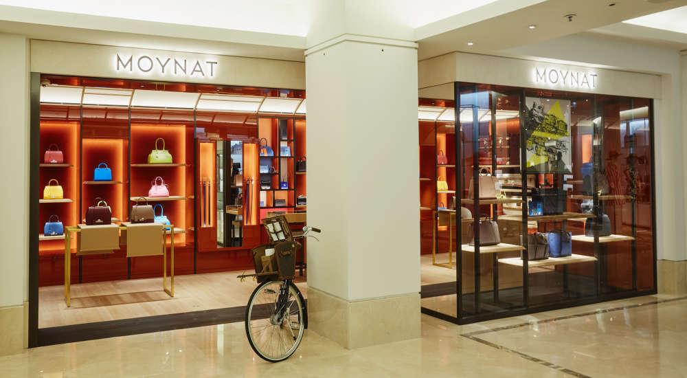 moynat_opened at Le Bon Marche Paris France