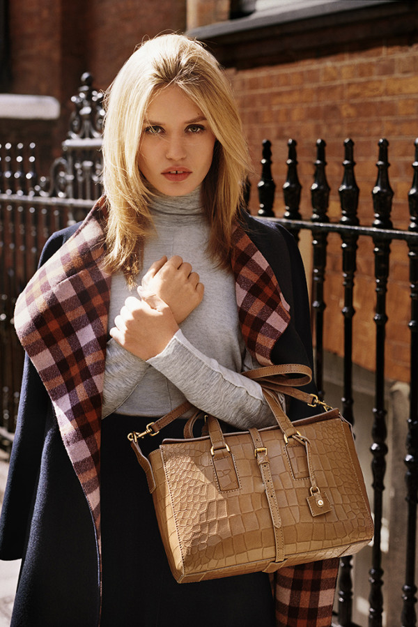 mulberry-Fall Winter-2015-2016 - ad campaign -Georgia May Jagger-