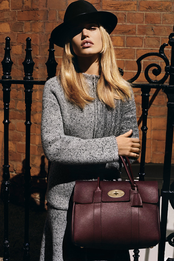 mulberry-Fall Winter-2015-2016 - ad campaign -Georgia May Jagger
