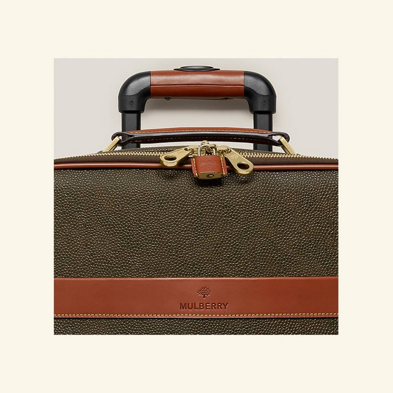 mulberry  Scotchgrain luggage collection - 2016