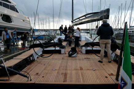 Oscar3 Mylius 65' is ready for serious racing