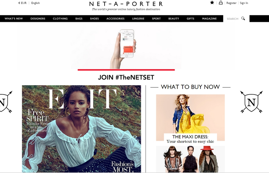 net-a-porter screenshot