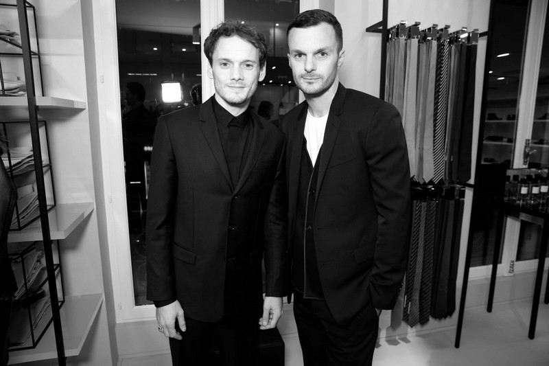 new dior homme paris store opening soiree