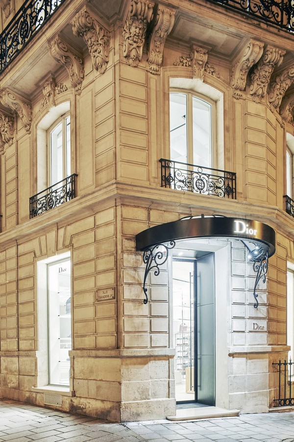 new dior homme paris store