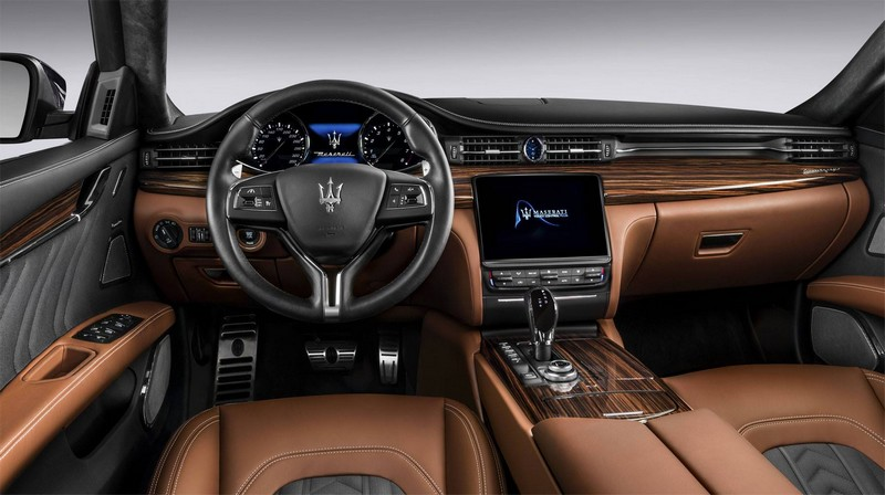 new maserati quattroporte- interior 2luxury2-com