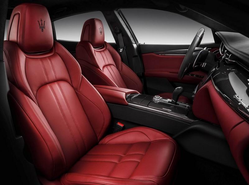 new maserati quattroporte- interior red 2luxury2-com