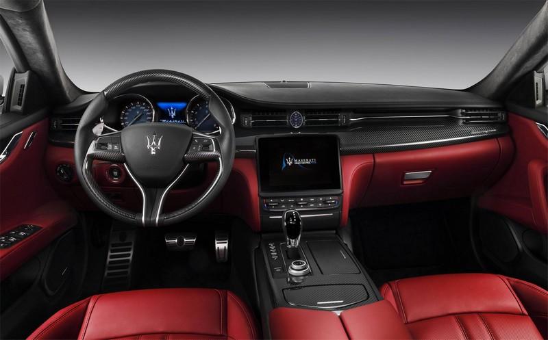 new maserati quattroporte- red passion interior 2luxury2-com