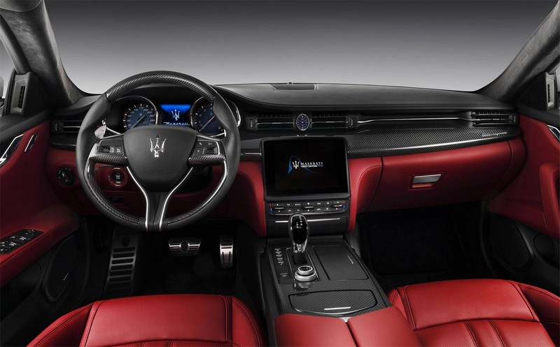 new maserati quattroporte- red passion interior 2luxury2-com