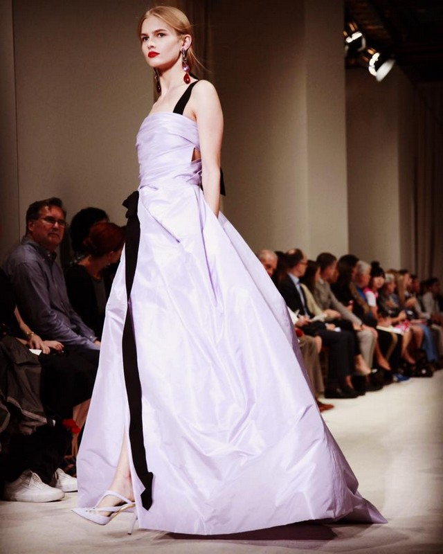oscardelarenta- new york fashion week 2015--