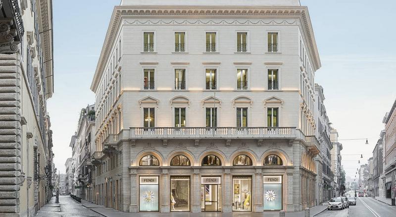 palazzo fendi rome - ext