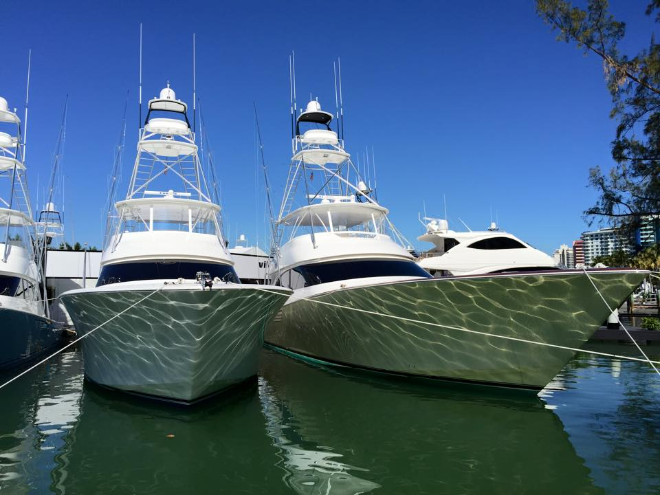 palm beach international boat show aerial view-Boat Show Events - Show Management 2015