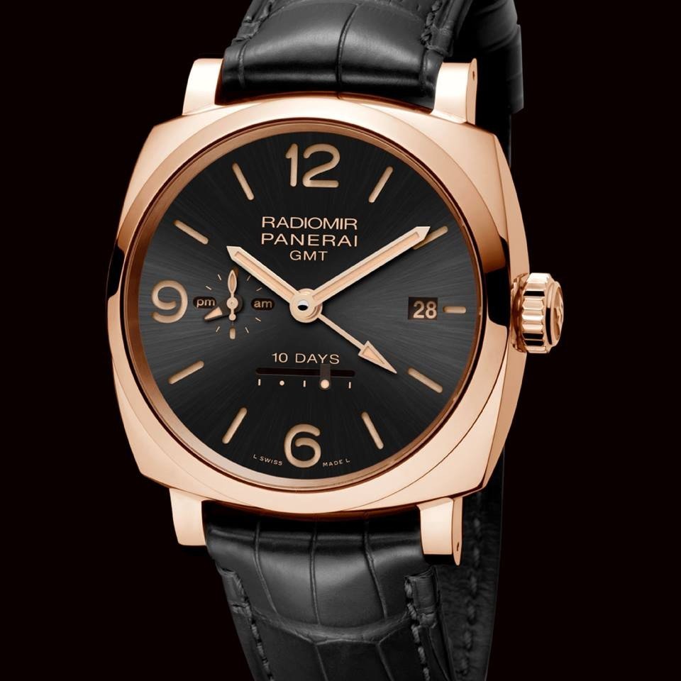 panerai novelties watches and wonders 2015- The Radiomir 1940 10 Days GMT Automatic Oro Rosso - 45mm