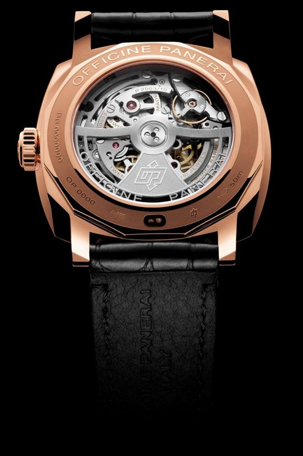 panerai watches and wonders 2015- The Radiomir 1940 10 Days GMT Automatic Oro Rosso - 45mm