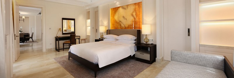 park hyatt bedroom -Understated luxury at first Park Hyatt resort in Europe