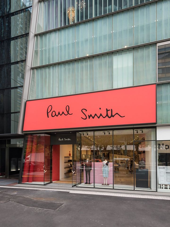 paul smith store japan