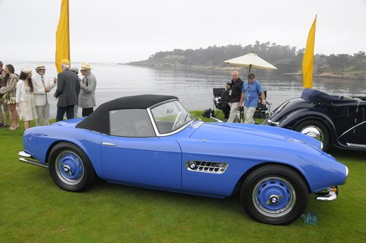 pebble beach concours -1958 BMW 507 Series II Roadster-